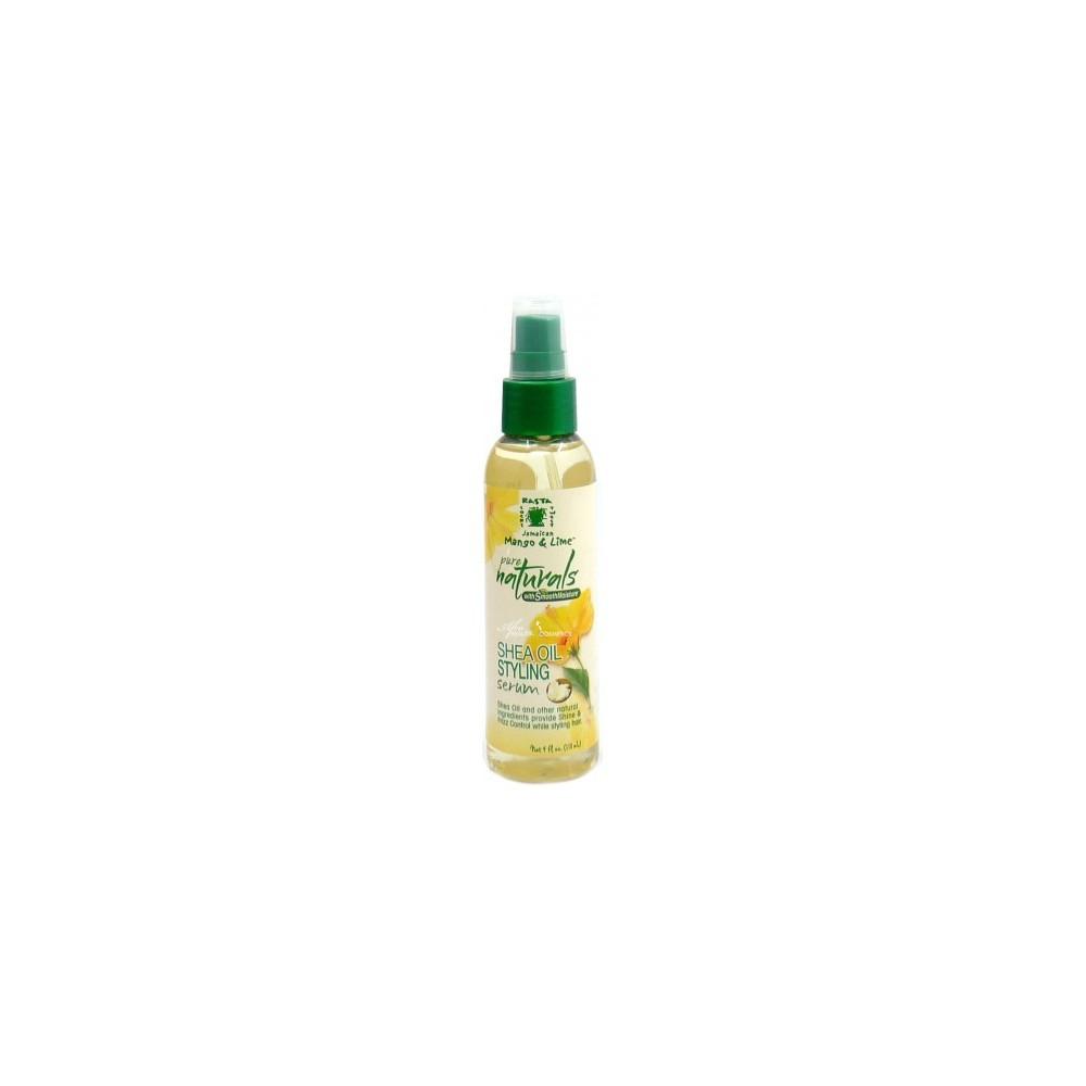 Sérum Coiffant Karité et coco Shea Oil Styling Serum Jamaican Mango & lime Pure Naturals 118 ml