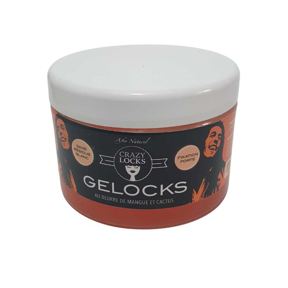 CRAZY LOCK GELOCKS au Beurre De Mangue Et Cactus 300ml