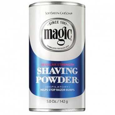 Poudre dépilatoire Magic SoftSheen-CarSon SHAVING POWDER AFRO - AMERICAINS BLUE 142G