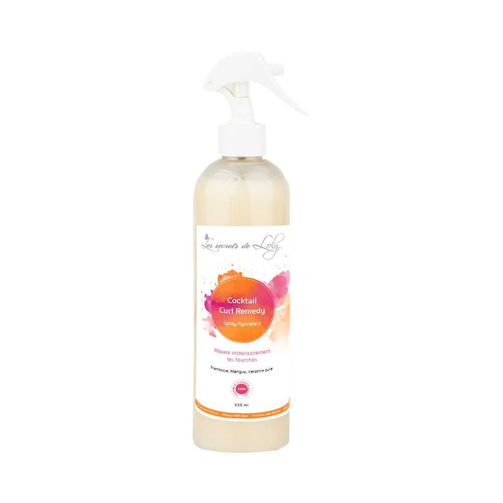 SPRAY HYDRATANT COCKTAIL CURL REMEDY - LES SECRETS DE LOLY- 250ml