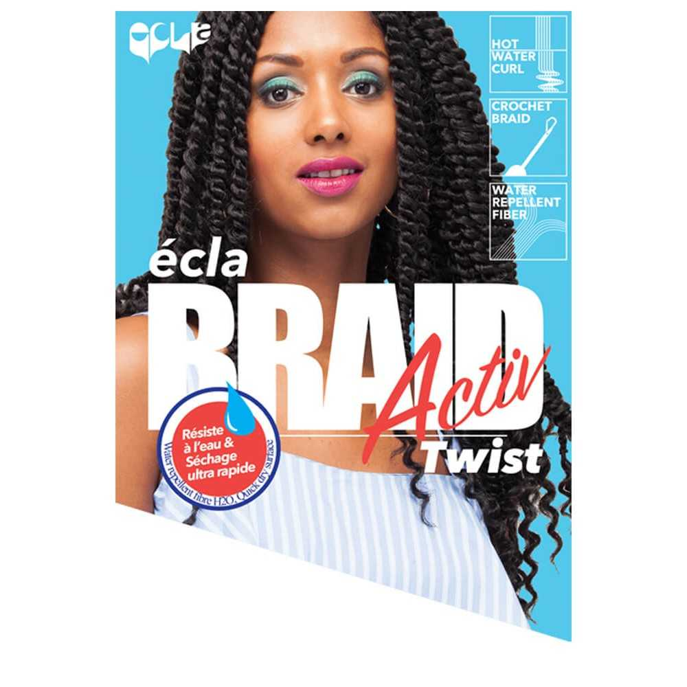 MECHES ACTIV TWIST H2O BRAID - ECLA