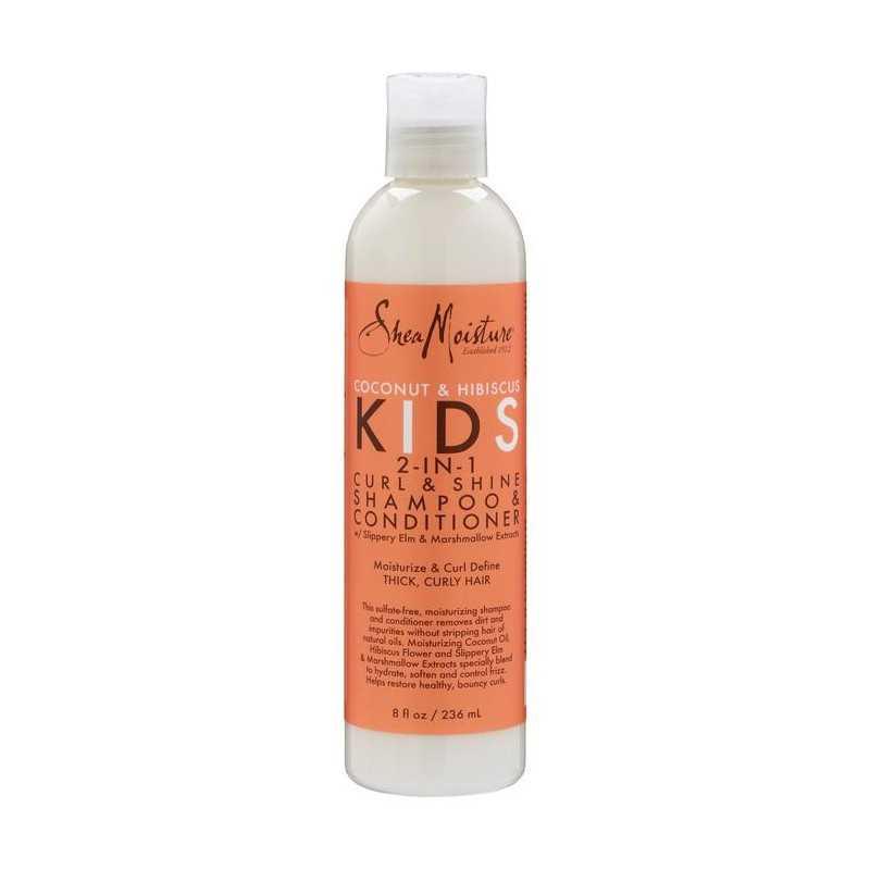 Shampoing et Revitalisant 2 en 1 boucles et brillance pour enfants 236ml