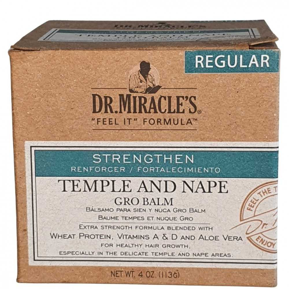Temple and Nape Gro Balm Regular Dr Miracle's 113g