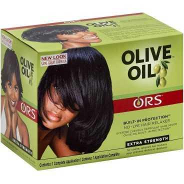 Défrisant  à l'huile d'olive Organic root stimulator Olive Oil No Lye Relaxer