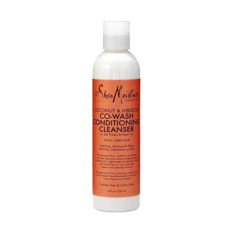 Après-Shampoing Lavant coconut - hibiscus Co-Wash Conditioning Cleanser Shea Moisture 236ml