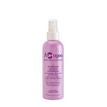 Après-shampoing aux provitamines sans rinçage Aphogee cheveux crépus 237 ml