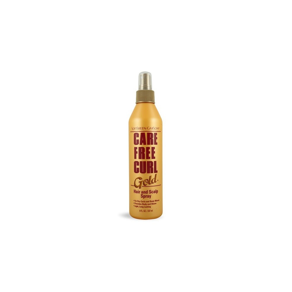 Spray pour boucles gold - hair and scalp spray - SoftSheen-Carson Care Free Curl