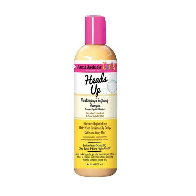 Shampoing hydratant Girls Heads Up Aunt Jackie's 355ml