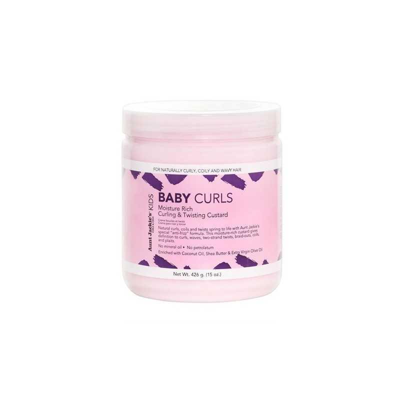 Crème de boucles et twists - Baby Girls Curls - Aunt Jackie's 426g