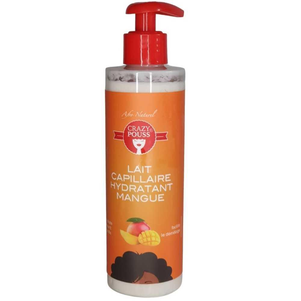 Lait Capillaire Hydratant Mangue Crazy Pouss Afro Naturel 250ml