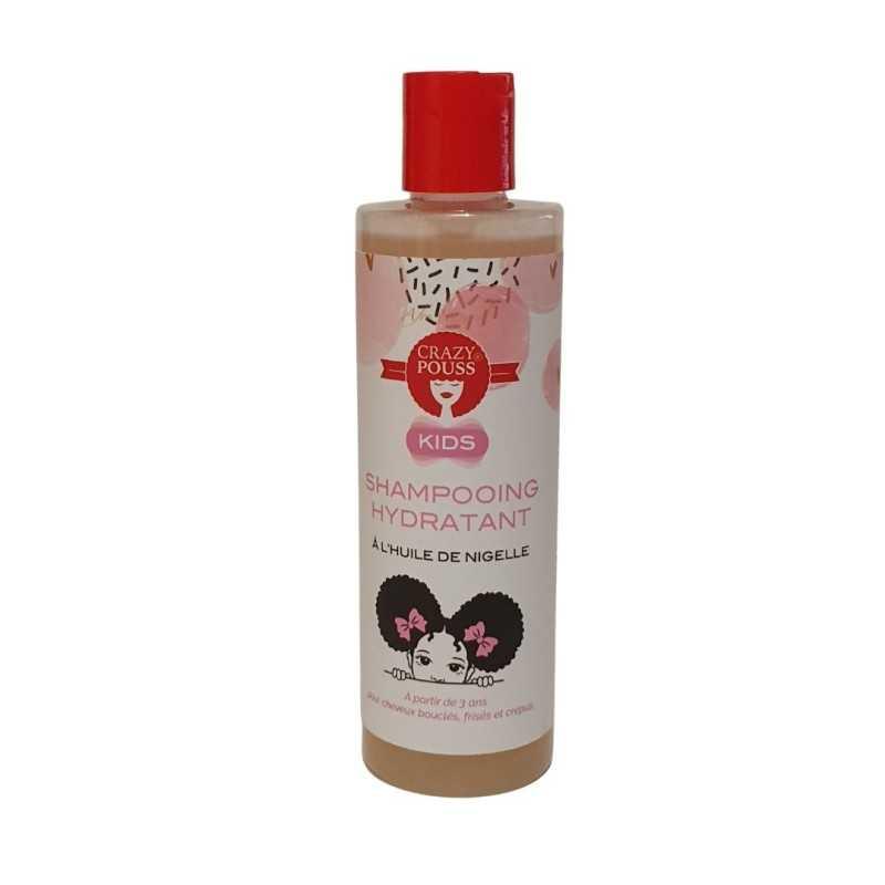 Shampoing hydratant Kids à l'huile de nigelle Crazy Pous Afro Naturel 250ml