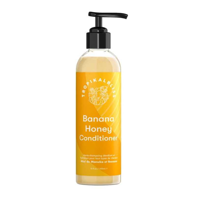Apres-shampoing démêlant et hydratant - Banana Honey Conditioner - 300ml
