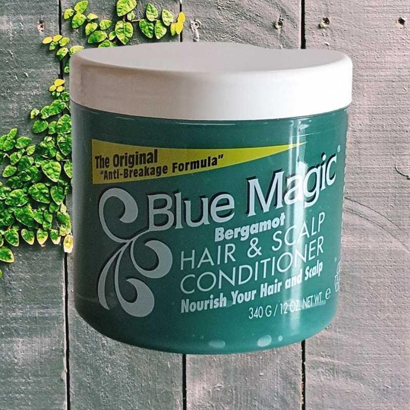 Soins revitalisant à la Bergamote Blue Magic Bergamot Hair And Scalp Conditioner