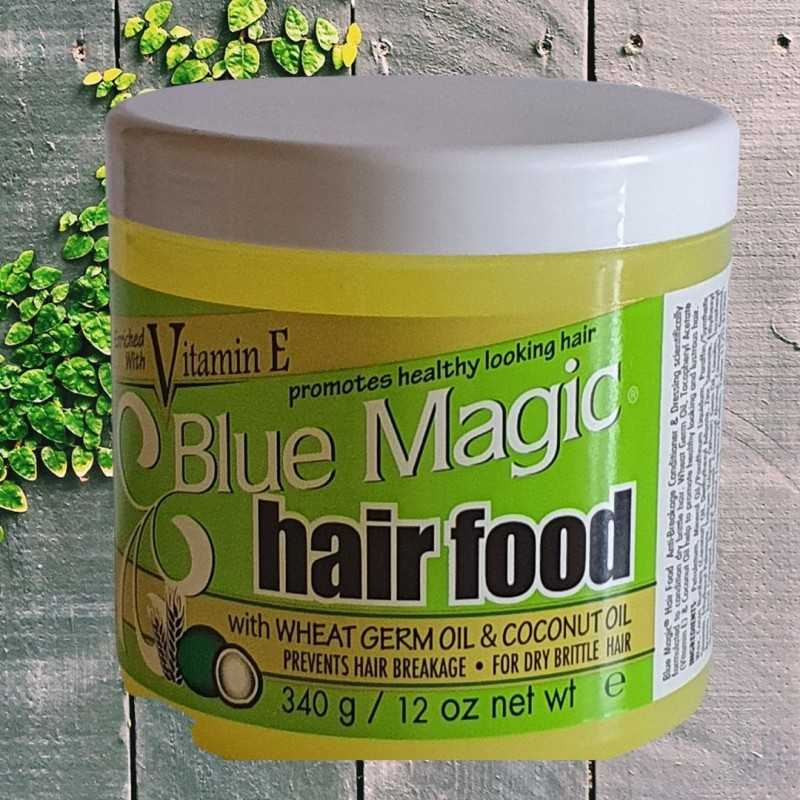 Soin revitalisant pour cheveux crépus frisés ou bouclés Hair Food Blue Magic