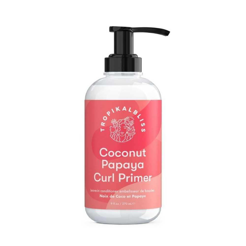 Leave-in conditioner - Coconut Papaya Curl Primer Tropikalbliss 270ml