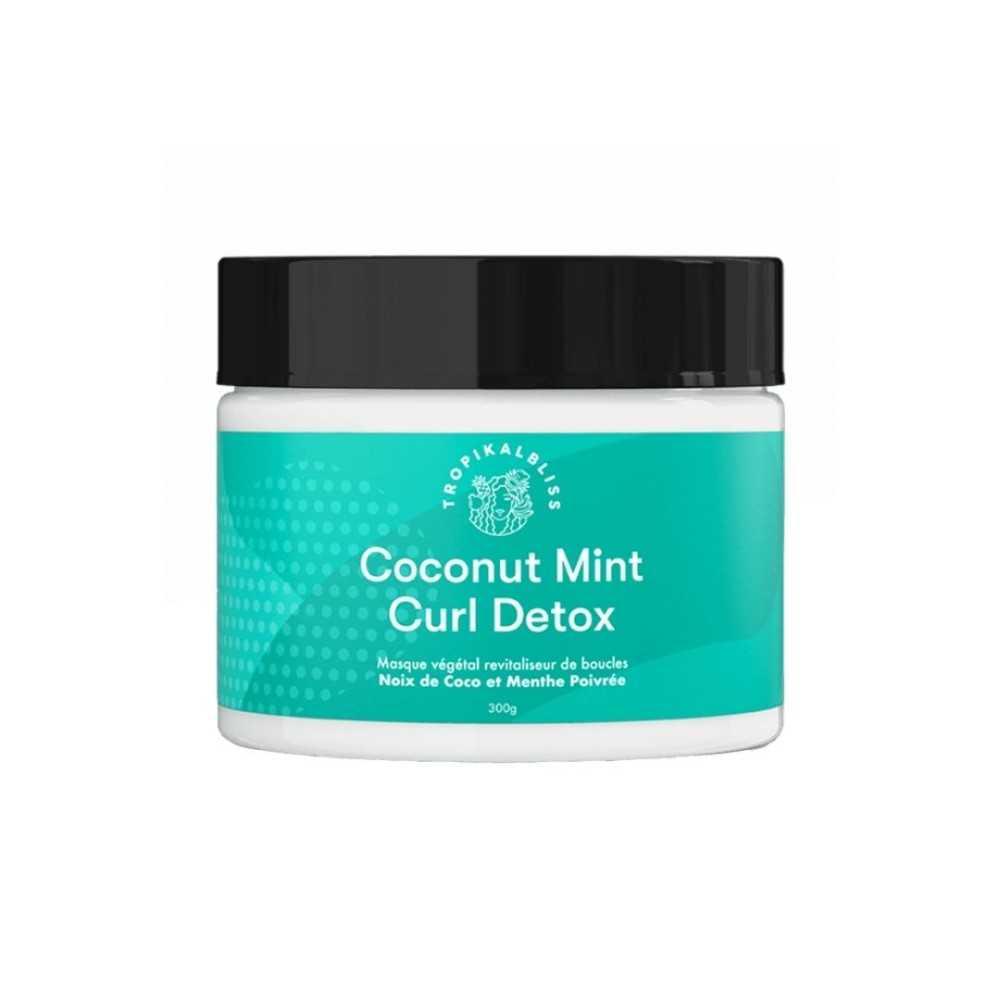 Masque végétal revitaliseur de boucles - Coconut Mint Curl Detox 300g