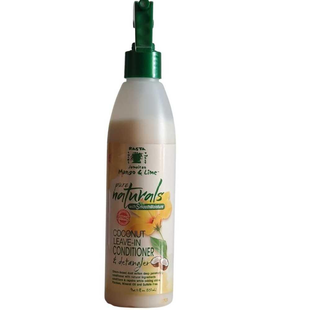 Soins Démêlant sans rinçage Jamaican Mango & Lime Pure Naturals 237 ml