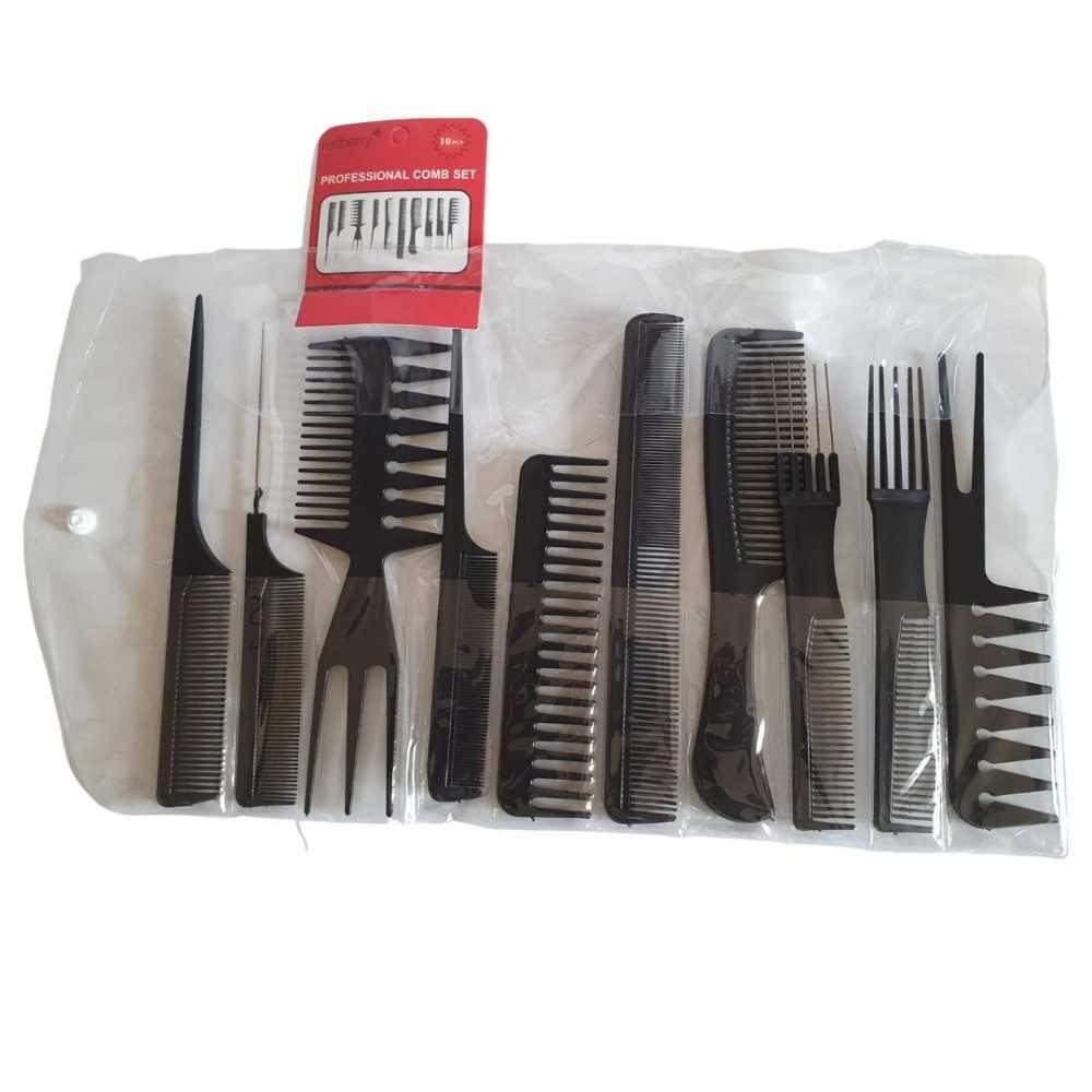 Redberry Hair Comb Set Professional - Set de Peigne