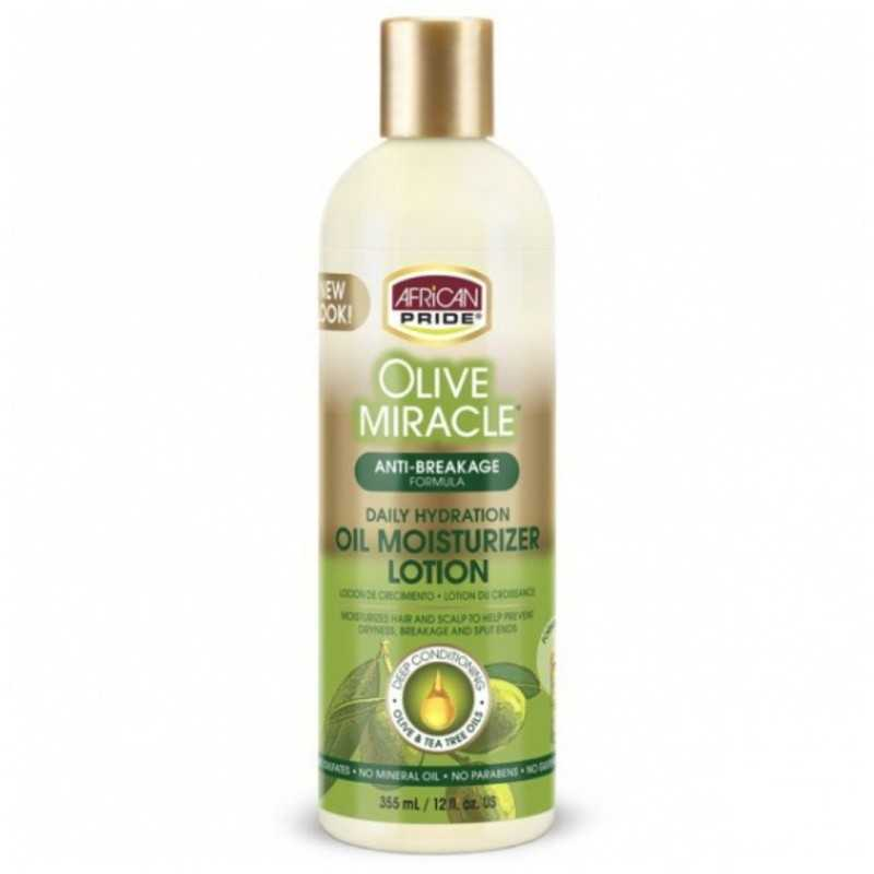 Lotion hydratante Olive Miracle African Pride 355ml