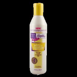 Shampooing soin 2 en 1 pour cheveux défrisés des enfants Dark an Lovely
