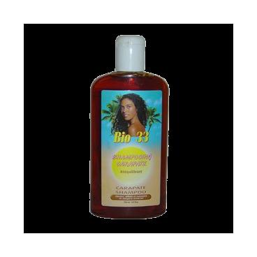 Shampoing à l'huile de carapate pour cheveux abimes Bio 33-Keralong Tropic