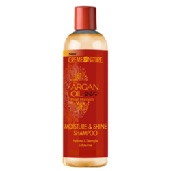 Shampoing Hydratation et Brillance à l'huile d'Argan CREME OF NATURE 354 ml