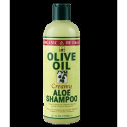 Creamy ALOE SHAMPOO OLIVE OIL (370 ml)