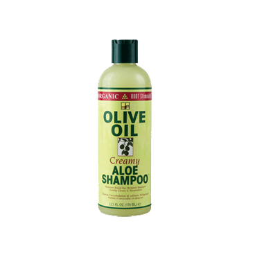 Organic racine stimulateur Cremeuse Aloes Shampoo Huile d'olive 370 ml