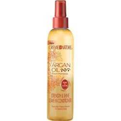 Crème of Nature .Force Huile d'Argan & Éclat Après Shampoing Sans Rinçage 250 ml