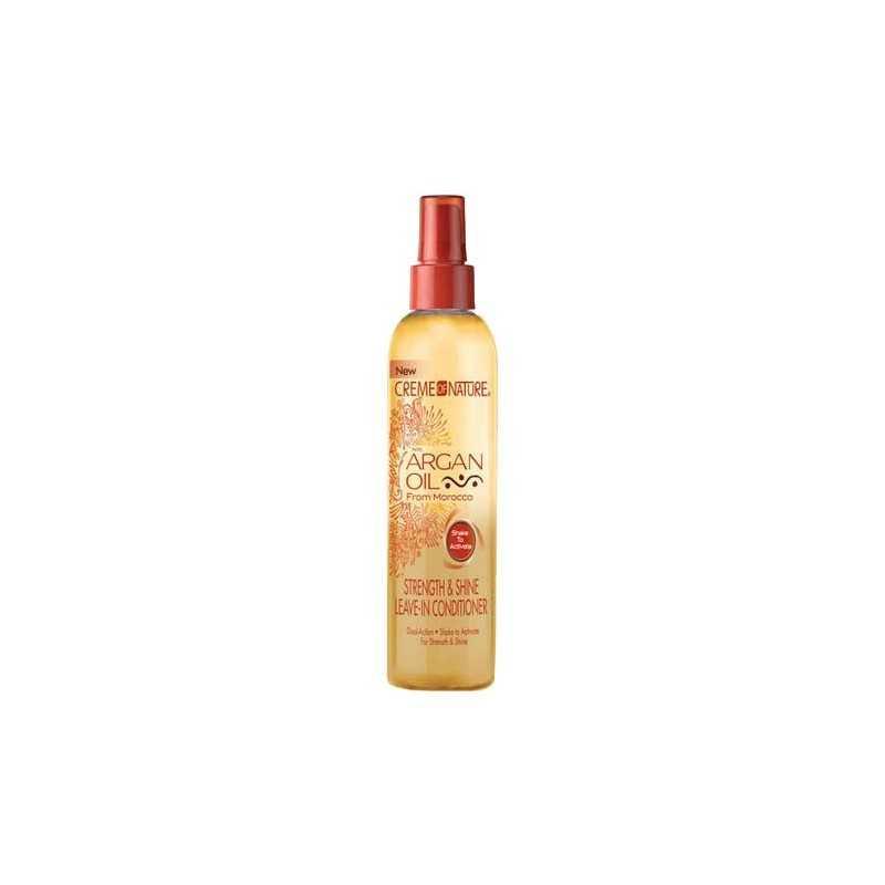 Crème of Nature .Force Huile d'Argan & Éclat Après Shampoing Sans Rinçage