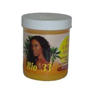 Brillantine carotte Bio 33-Keralong Tropic soins cuir chevelu 120ml