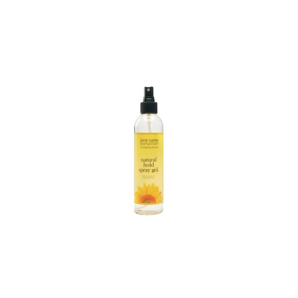 Natural hold spray gel 237ml   Jane Carter Solution