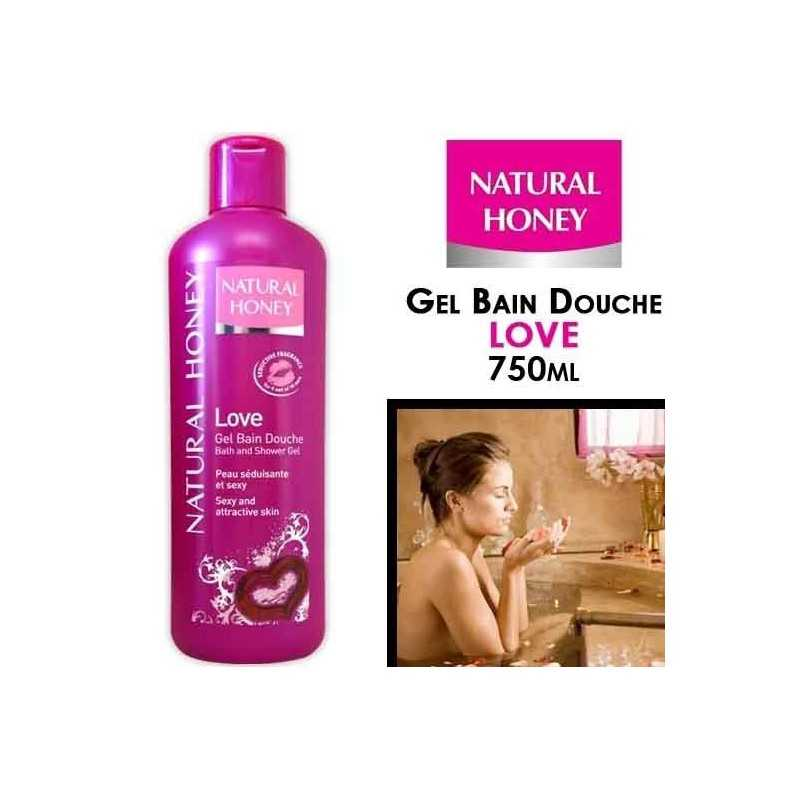 NATURAL HONEY-Gel- Bain- Douche- Love