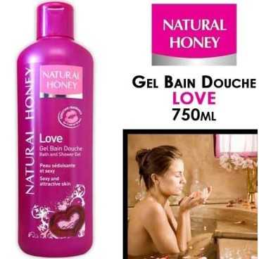 NATURAL HONEY Gel- Bain Douche Love
