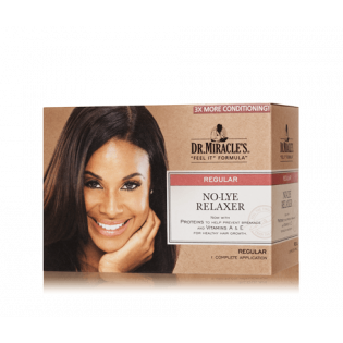 No lye Relaxer Kit (Type: Regular)
