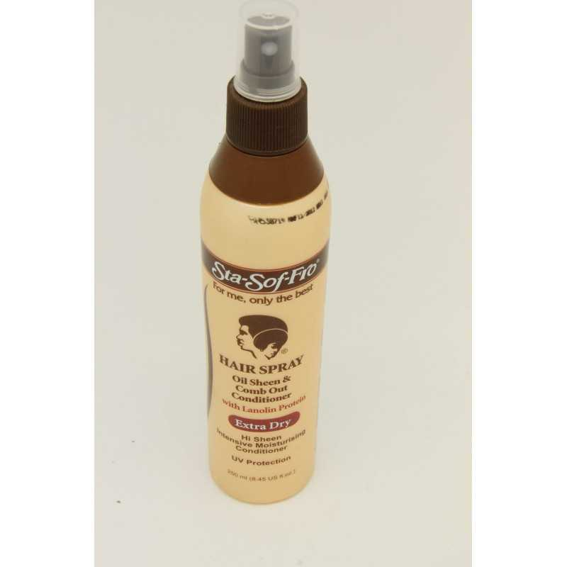 STA SOF FRO CHEVEUX VAPORISEZ OIL SHEEN COMB-OUT CONDITIONER 250ML EXTRA SEC