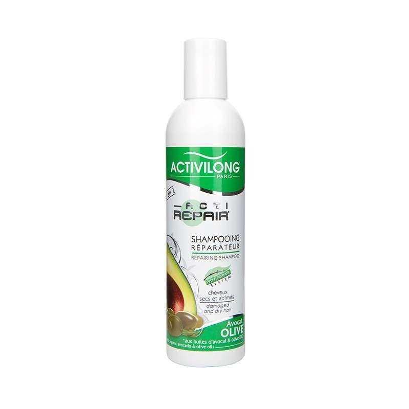 Shampooing réparateur Avocat et Olive (250ml)