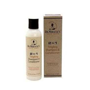 Dr Miracle's  Shampoing et Après-Shamphoing 2 en 1 Anti-pelliculaire  177,6ml
