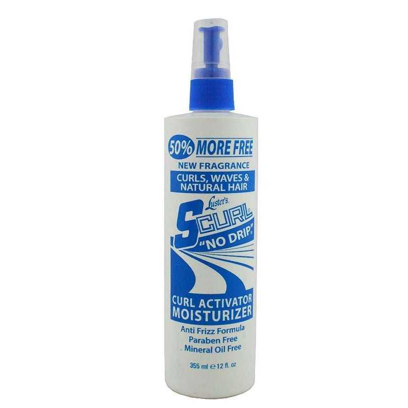 SCURL'' NO DRIP'' ACTIVATOR MOISTURIZER SPRAY 355ml