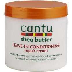 Cantu Shea Butter Crème revitalisante au beurre de Karité pour les soins cheveux secs et cassants