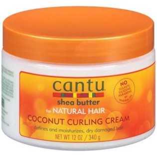 CANTU COCONUT SHEA BUTTER NATURAL HAIR CURLING CREAM  340g