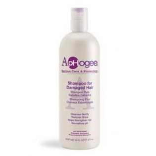 Aphogee - Shampoing pour Cheveux abîmés et endommagés 473 ml