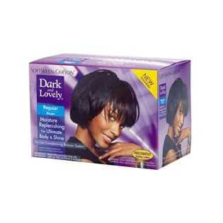 Dark and Lovely Moisture Plus No Lye Relaxer Défrisant Type Regular 359 ml