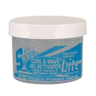 Gel Activateur de Boucles Light- luster's Scurl curl & wave Jel Activator