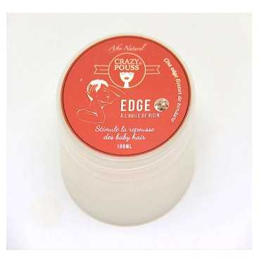 GEL EDGE A L'HUILE DE RICIN CRAZY POUSS-AFRO NATUREL 100ml