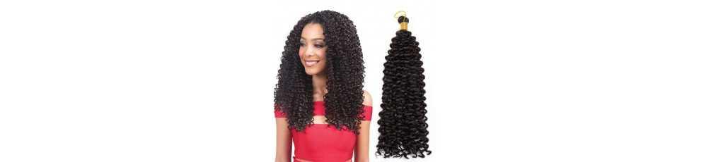Tissage et Extension de cheveux Synthétiques